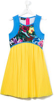 DSQUARED2 pleated dress - kids - Polyester - 16 yrs