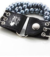 Dirty Pretty Things Trintiy Bracelet Black & Pearl