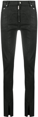 Rick Owens Casual Coated Skinny Jeans