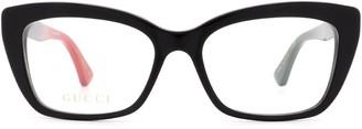 Gucci Cat Eye Framed Glasses