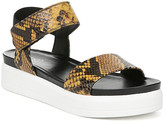 Franco Sarto Women's Sandals YELLOW - Yellow Kana Leather Sandal - Women