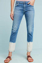 Citizens of Humanity Agnes High-Rise Bleached Cropped Jeans