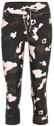 The Upside Forest Camo NYC printed leggings