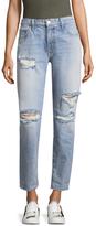 Current/Elliott The Fling Cotton Boyfriend Jeans