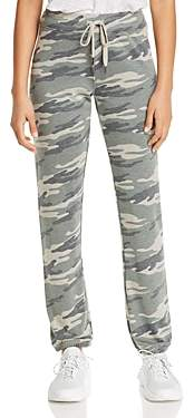 Andrew Marc Camo-Print French Terry Jogger Pants