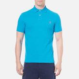Polo Ralph Lauren Men's Custom Fit Polo Shirt Maui Blue