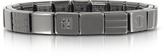 Nomination Steel Ikons Brushed Squared Stainless Steel Bracelet