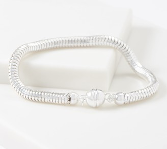 Ultrafine UltraFine Polished Chain Magnetic Clasp Bracelet, 9.2g