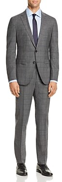 BOSS Novan/Ben Windowpane Extra Slim Fit Suit