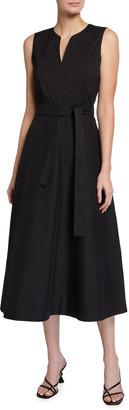 Lafayette 148 New York Janelle Sleeveless Midi Dress