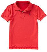 Ralph Lauren Little Boys 5-7 Lisle Solid Short-Sleeve Polo Shirt