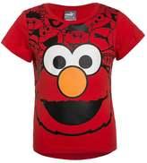 Puma SESAMSTRAßE STYLE Print Tshirt high risk red