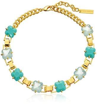 Vince Camuto Resin Aqua Link Necklace