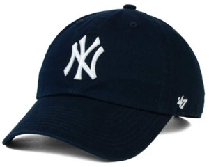 '47 New York Yankees On-Field Replica Clean Up Strapback Cap