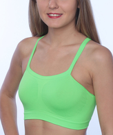 Hanes Lime & Fuchsia Badini Bralette Set - Plus Too