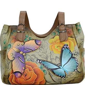 Anuschka Anna by Leather Medium Shoulder Bag-