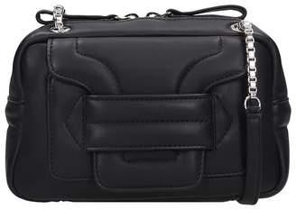 Pierre Hardy Mini Alpha Pad Shoulder Bag In Black Leather