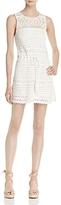Joie Nawra Crochet Mini Dress