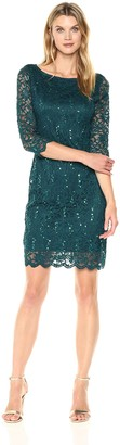 Tiana B Women's Sequin Lace Sheath Dress