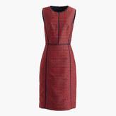 J.Crew Sheath dress in crimson foulard