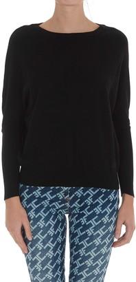 Elisabetta Franchi Crewneck Knitted Pullover