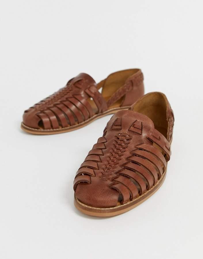 45abf6075 Men Leather Asos Sandals | over 10 Men Leather Asos Sandals | ShopStyle