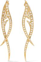 Stephen Webster Thorn 18-karat Gold Diamond Earrings - one size