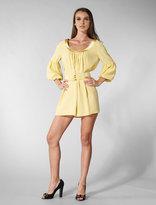 Twelfth Street By Cynthia Vincent Lantern Sleeve Mini Dress