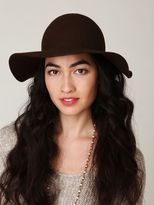 Free People Janis Brimmed Wool Tall Hat