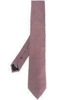 Armani Collezioni woven pattern tie