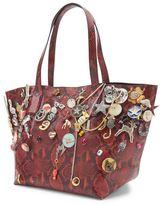 Marc by Marc Jacobs Shopping Snake Embellished Wingman Large Bag