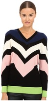 M Missoni Graphic Intarsia Sweater