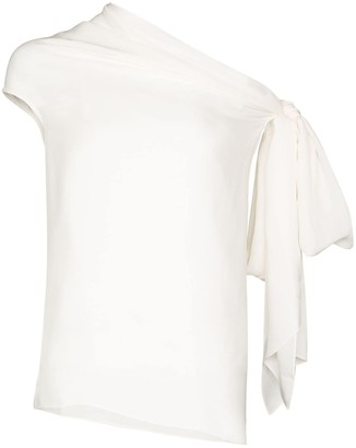 Roland Mouret Orzora off-the-shoulder top