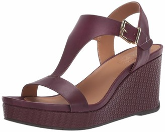 Kenneth Cole Reaction Women's Wedged Sandal Red 9 M US