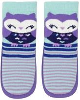 Jumping Beans Baby Girl Jumping Beans® Owl Striped Slipper Socks