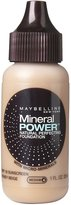 Maybelline Mineral Power Healthy Perfection Liquid Foundation - Honey - Medium 4 (Pack of 4)