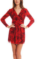 Pierre Balmain Red Print Dress