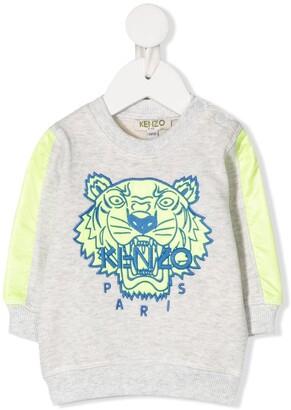 Kenzo Tiger Head Print Sweatshirt