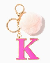 Charming charlie Furry Initial K Keychain