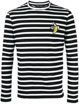 Markus Lupfer striped longlseeved T-shirt - men - Cotton - M