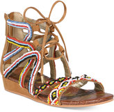 Sam Edelman Danica Beaded Lace-Up Sandals, Little Girls (11-3) & Big Girls (3.5-7)
