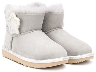 Ugg Kids TEEN star patch ankle boots