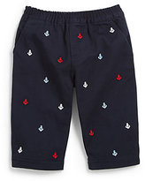 Hartstrings Infant's Embroidered Anchor Pants