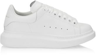 Alexander McQueen Women's Leather Platform Sneakers