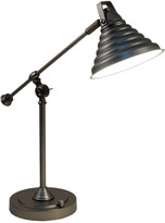 Dale Tiffany Springdale By Springdale 21.5In Cone Led Desk Lamp With Usb Charger