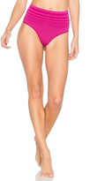 Yummie by Heather Thomson Jasmina Shaping Thong in Fuchsia. - size S/M (also in )