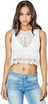 GUESS Roxana Crochet Lace Tank