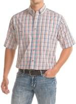 Wrangler Rugged Wear Wrinkle-Resistant Shirt - Short Sleeve (For Big and Tall Men)