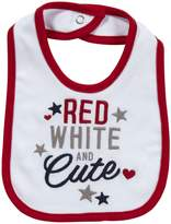 Carter's Bib - Red White And Cute-One Size by