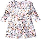 Zutano Folktale Raglan Trapeze Dress (Baby) - Cream - 12 Months